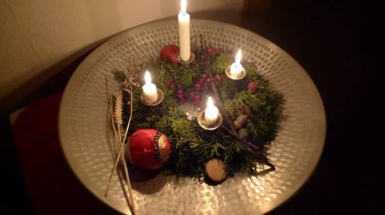 Natürliche Weihnachts-Deko