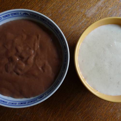 Selbstgemachter Pudding