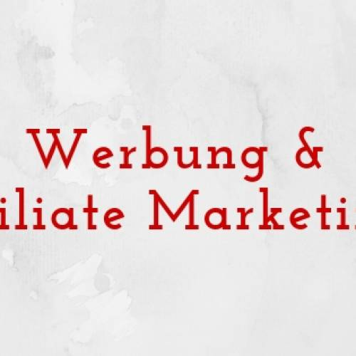 Werbung und Affiliate Marketing