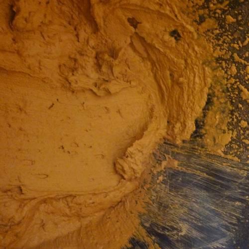Lehmfarbe oder Streichputz auf Gipskarton