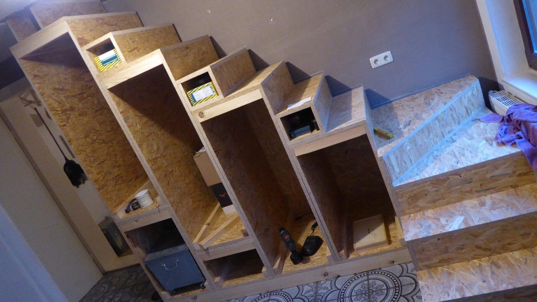 Projekt Osb Treppe Selber Bauen Das Kleine Haus Am Wendlandrand