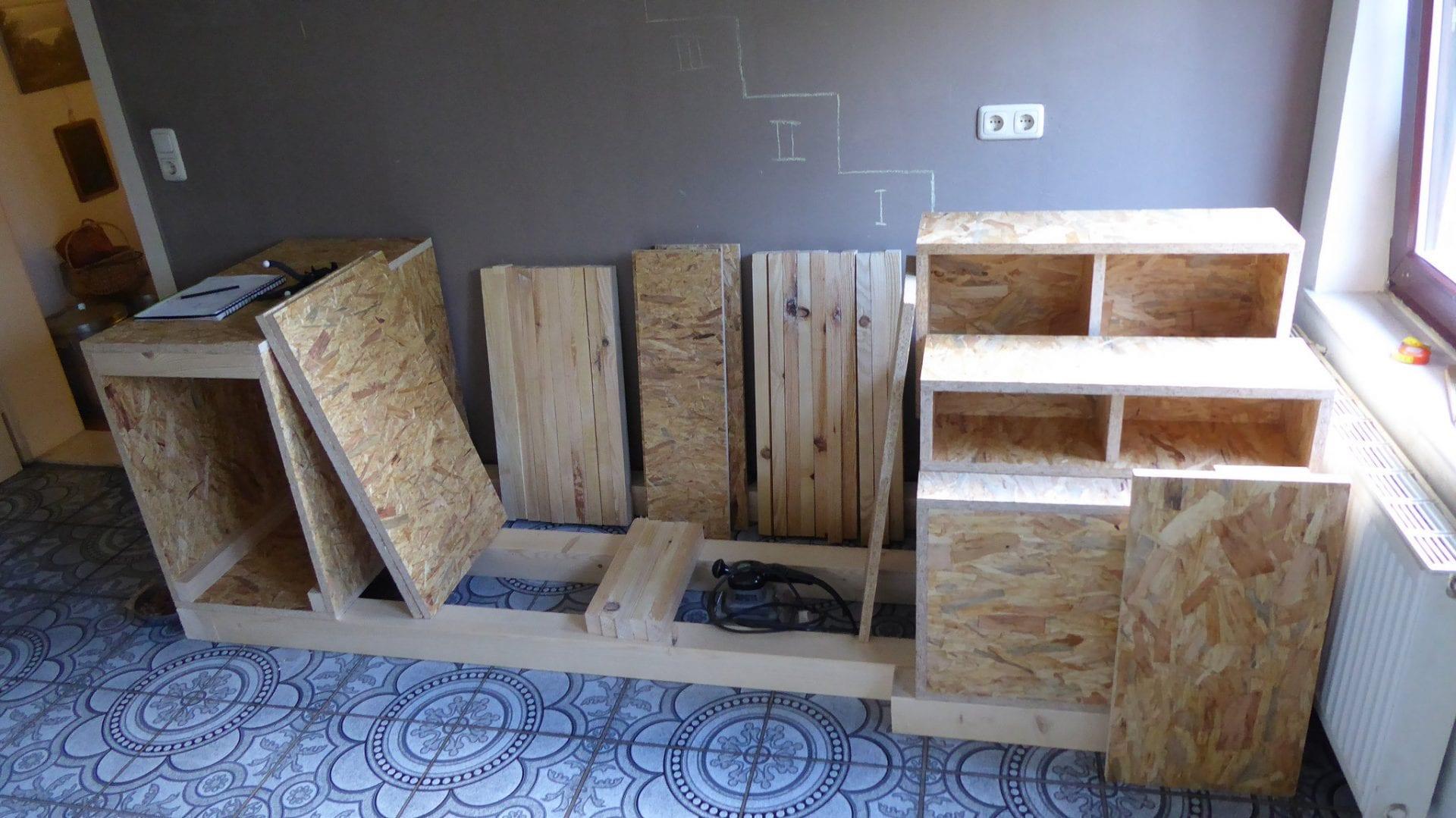 Projekt: OSB-Treppe selber bauen  Das kleine Haus am Wendlandrand