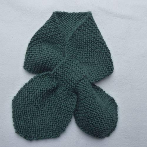 Aviator Scarf – Selbst gestrickter Baby Schal